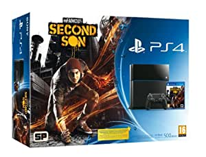 SONY CONSOLE PS4 500 GB + INFAMOUS SECOND SON