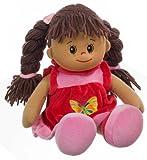 Toy - Heunec 470576 - Poupetta Lucy mit braunem Haar L