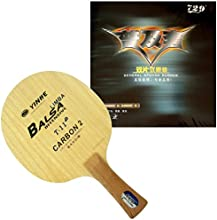 Galaxy T-11 Blade with 2x RITC 729 General Rubbers for a racket Shakehandlong-FL