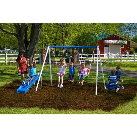 Flexible Flyer Fun Time Metal Swing Set (Swing Sets For Kids compare prices)