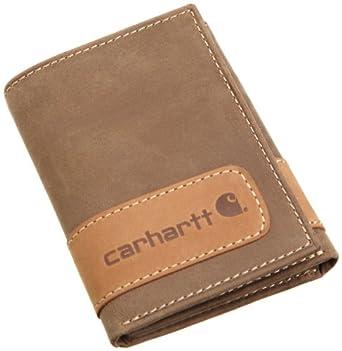 344b581b4cb iJNh Carhartt Men s Two Tone Trifold Wallet 卡哈特男士Two  Tone三折钱包 16.87。从来没有过的超低价,包装盒也十分精美,送人绝对倍儿有面子!