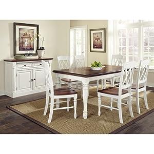 Home Styles Monarch 5-Piece Rectangular Dining Set - 5008-308/5020-308