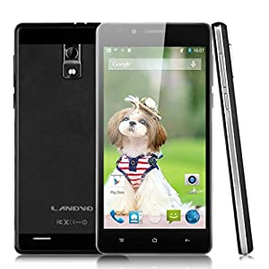 5'' LANDVO L550 IPS QHD Screen 3G Smartphone Android 4.4 MTK6592 1.4GHz Octa Core Mobile Phone 1G RAM 8G ROM GPS Cellphone WIFI Black