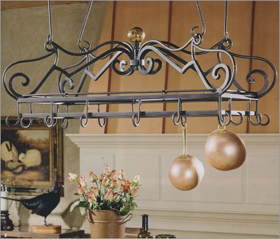 Cheap Bago Luma Medium Scrolled Pot Rack & Accessories WKR12x & Accessories (WKR12x & Accessories)