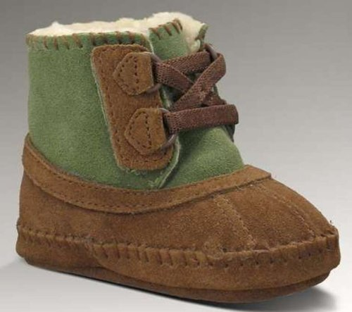 New UGG® Australia Arly Chocolate/Nopal 0/1 Infants Boots