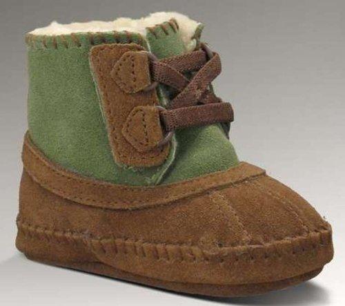 New UGG® Australia Arly Chocolate/Nopal 0/1 Infants Boots