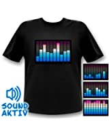 10-Kanal Equalizer T-Shirt Ozon (l)