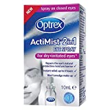 Optrex ActiMist 2-in-1 Dry Plus Irritated Eye Spray, 10ml