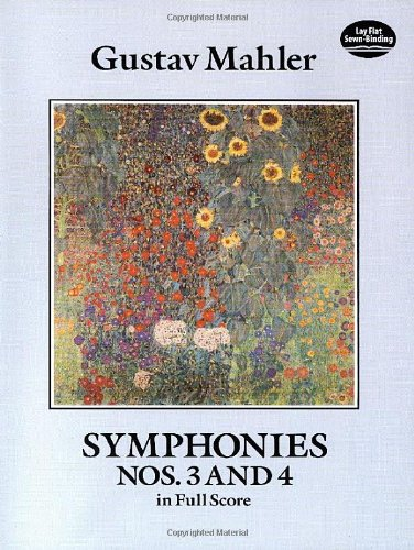 Symphonies Nos. 3 and 4 in Full Score (Dover Music Scores) (Mahler Symphonies Scores compare prices)
