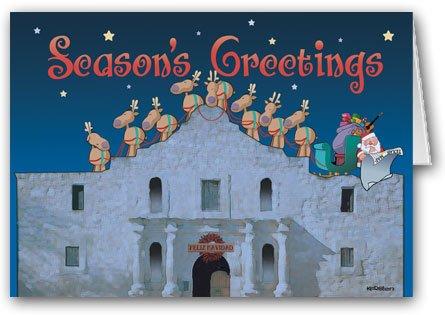 the-alamo-san-antonio-texas-christmas-card-12-cards-13-envelopes