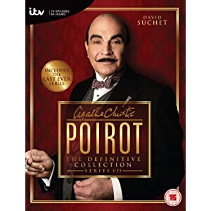 Agatha Christie's Poirot - The Definitive Collection (Series 1-13) [DVD] [I