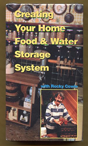 Preppers ** Creating Your Food & Water Storage System ** Vhs ** with Rocky Cowe
