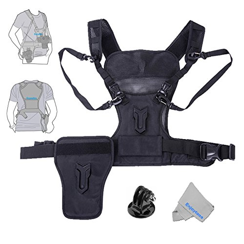 fomito-multi-camera-carrying-chest-harness-system-vest-with-side-holster-for-canon-for-nikon-for-pan