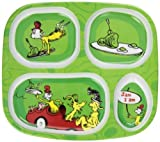 Bumkins Dr. Seuss Melamine Dishware, Green Eggs and Ham Color: Green Eggs and Ham Infant, Baby, Child