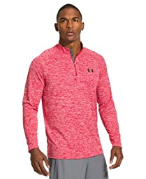 Men\'s Under Armour Tech ¼ Zip, Red (600), Large