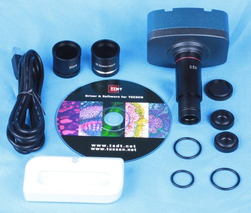 Tucsen 1.3 Mp Microscope Cmos Digital C-Mount Vedio Usb Camera 4 Wins & Os