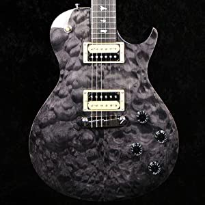 prs se 245 singlecut electric guitar grey black quilt maple top with gigbag. Black Bedroom Furniture Sets. Home Design Ideas