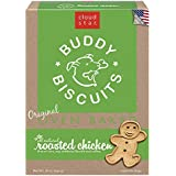 Cloud Star Buddy Biscuits Original Oven Baked Dog Treats, Roasted Chicken, 16-Ounce Boxes, 6-Pack