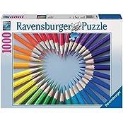 Ravensburger Puzzles Color My Heart, Multi Color (1000 Pieces)