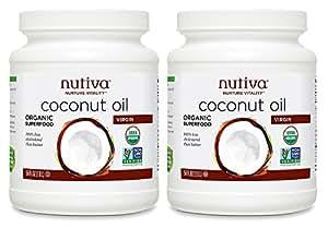 Nutiva Organic Virgin Coconut Oil, 54 Ounce (Pack of 2)