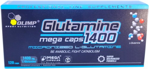 Olimp L-Glutamine Mega Capsules - Pack of 120 Capsules