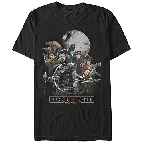 Star Wars Rogue One Saw Gerrera Rebel Standoff Mens Graphic T-Shirt
