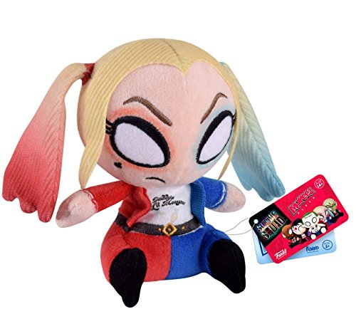 Funko - Peluche DC Suicide Squad - Harley Quinn Mopeez 11cm - 0849803085025