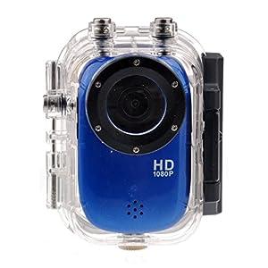 Foxnovo SJ1000 1.5-inch LCD FHD 1080P 30M Waterproof Sports Digital Action Camcorder Mini DV with G-sensor /HDMI /TF Slot (Blue)