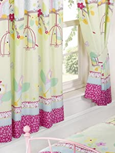 "Twit Twoo Owls Lined Curtains - 72"" from Price Right Home"