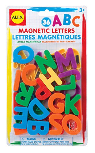 ALEX Toys Artist Studio Magnetic Letters (Magnetic Refrigerator Magnets compare prices)