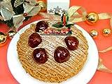 【送料込み】★Xmas★魅惑のモンブラン5号≪2010クリスマスケーキ・ご予約≫