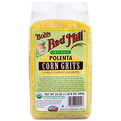 Bob's Red Mill Organic Corn Grits/Polenta - 24 oz (Corn Grits compare prices)