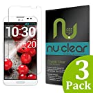 [3-Pack] LG Optimus G Pro E980 Screen Protector by RinoGear® - Military-Grade w/ Lifetime Warranty - Premium Shield Ultra Clear Quality