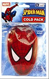 Marvel Spiderman Cold Pack - favorite Superheroe pain relieve and cold treatment