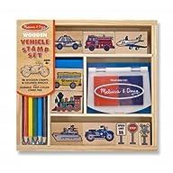 Melissa & Doug Vehicles Stamp Set