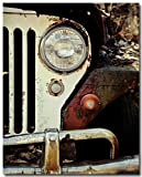 The Jeep Willys WWII Vintage Jeep Art