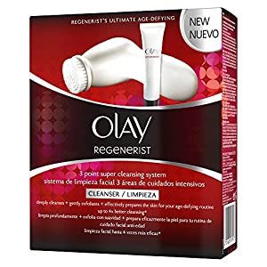 Olay Regenerist 3 Point Super Cleansing System Exfoliating Face Wash & cleansing exfoliating face brush
