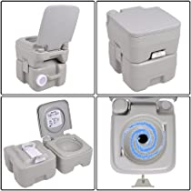 Brand New Portable 5 Gallon Outdoor Flush Toilet-Potty