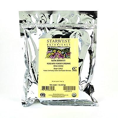 Starwest Botanicals Organic Rosehips Powder, 1 Pound from Starwest Botanicals, Inc.