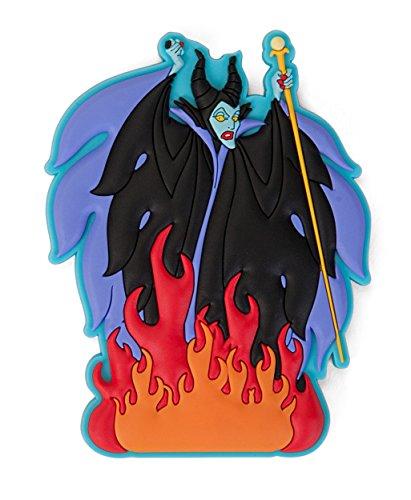 Disney Villains Burning Maleficent Soft Touch PVC Magnete