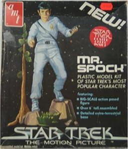Mr Spock AMT Vintage Model Kit Star Trek the Motion Picture