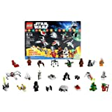 Lego Year 2011 Star Wars Series Set #7958 - Lego Star Wars Advent Calender With 9 Minifigures (Pilot Battle Droid...