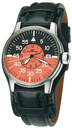 Fortis Flieger Cockpit 595.11.13L01 Reloj Automático para hombres Legibilidad Excelente