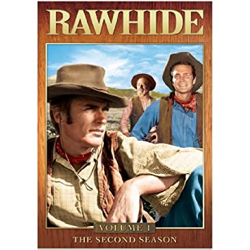 Rawhide: The Second Season, Vol. 1 DVD Set
