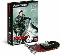 New Powercolor Ati Radeon Hd5570 1gb Ddr3 Vga/Dvi/Hdmi Pci-Express Video Card Engine Clock 650 Mhz
