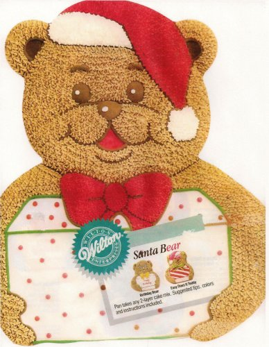 Wilton Santa Bear Cake Pan (Wilton Bear Pan compare prices)
