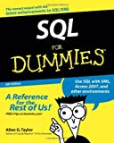 SQL For Dummies (For Dummies (Computers)) (047004652X) by Allen G. Taylor
