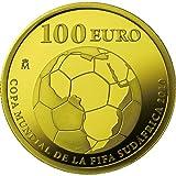 2010年 FIFA ワールドカップ南アフリカ大会 公式記念コイン スペイン100ユーロ金貨【C】 (CS3G90018) 王立スペイン造幣局
