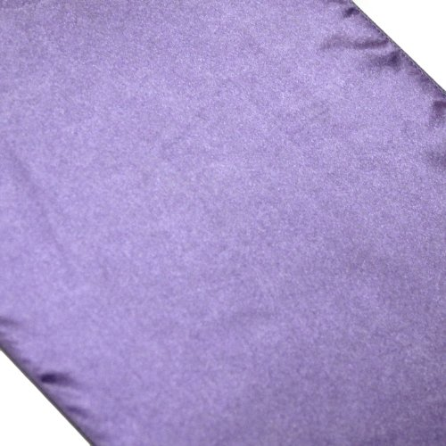 Koyal Wholesale 12-Pack Satin Table Runner, 12 By 108-Inch, Lavender
