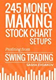 img - for 245 Money Making Stock Chart Setups: Profiting from Swing Trading book / textbook / text book
